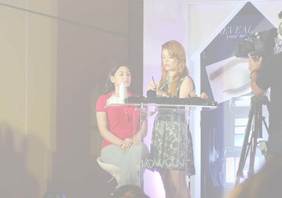Lauren Andersen's AVON Makeup Workshop in Manila
