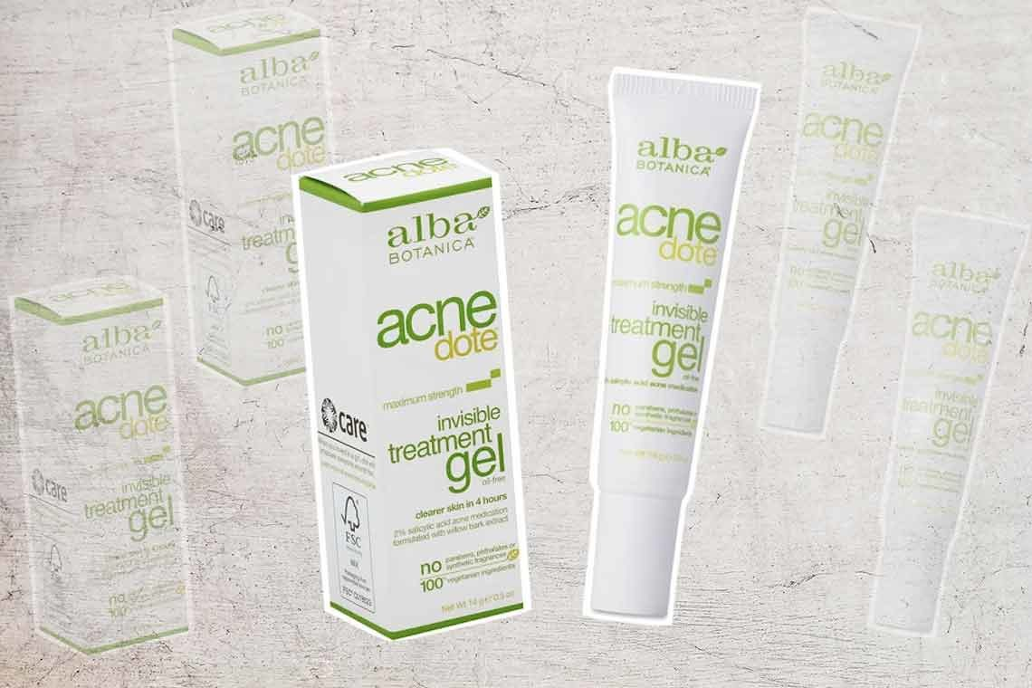 Product Review: Alba Botanica Acnedote Invisible Treatment Gel