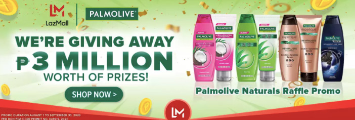 LazMall Palmolive Giveaway Deal